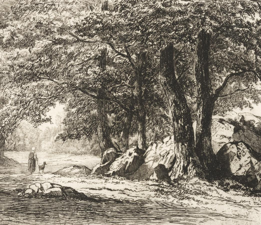 In the Grove, Washington, Conn. North America, 1881